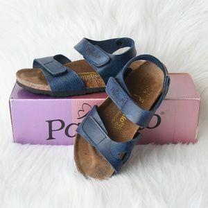 Kid's Birkenstock Papillio Bari Blue Sandals